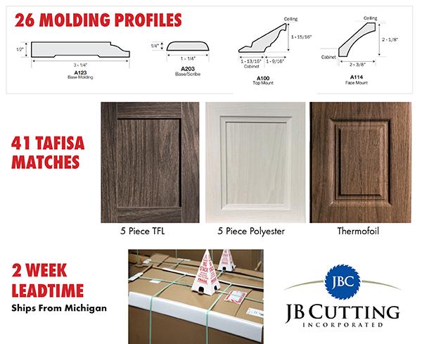 Image showing JB Cutting Door samples