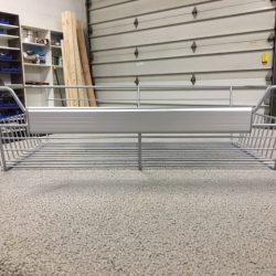 Brushed Chrome Handle Baskets
