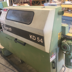 Used BRANDT KD 54 EDGEBANDER, 1996 Year of Mfg